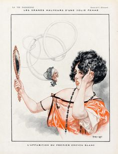 Hérouard 1921 ''Les grands malheurs d'une jolie femme''