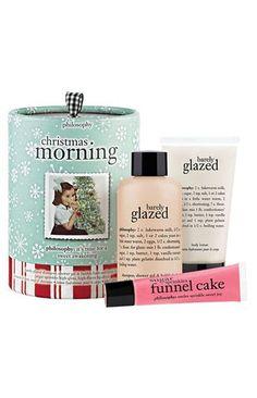 'Christmas Morning' gift set // Philosophy