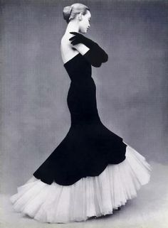 Balenciaga 1951. Looooove. Audrey Hepburn + Ginger Rogers http://www.breakfastwithaudrey.com.au