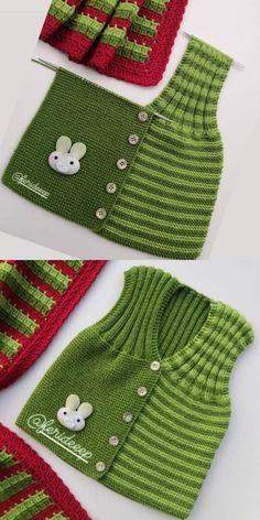 Buttoned Baby, the Model Number of Stitches and Aus .- Geknöpftes Baby, das vorbildliche Number of Stitches und Ausdruck strickt Buttoned baby knitting model number of stitches and expression - Knitting Websites, Knitting Blogs, Baby Knitting Patterns, Knitting Stitches, Free Knitting, Baby Cardigan, Baby Pullover, Baby Vest, Cardigan Pattern