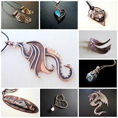 Alex Design - unique jewellery: Biżuteria z miedzi