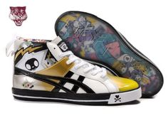 hot sale online a152b ac609 Onitsuka Tiger Fabre 74 X Tokidoki By ASICS Mens  amp  Womens High Shoes  White