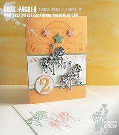 Rose Packer, Creative Roses, Stampin' Up!, Carousel Birthday, Birthday blast