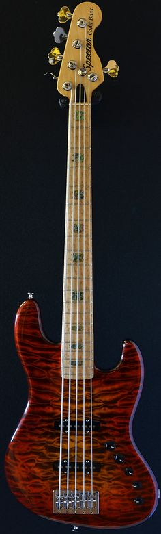 Spector Coda Deluxe 5 string bass (via Bass Direct)