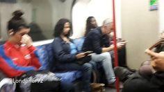 London Underground Central Line 1992 Rolling Stock Tottenham Court Road to Bond Street Filmed on 30th September 2016
