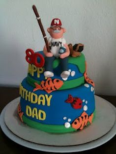 1000 Images About Fishing Cakes On Pinterest Fishing