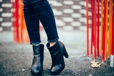 Black Ankle Boots- H&M Dark Jean - American Eagle  #thecollaborationblog #thecollabblog #ae #forever21 #lulus #h&m #tjmaxx