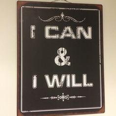 Minä voin! Minä haluan!