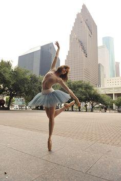 Ballet in Downtown Houston
