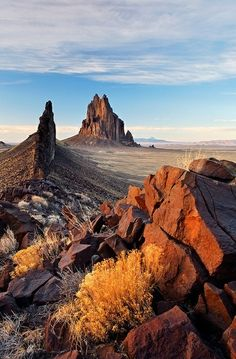 Shiprock Rock, New Mexico