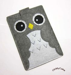 some very cute cases for various electronics, via etsy shop: ohmycake