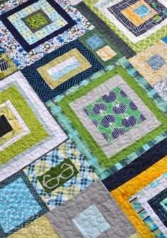 Dream Circle :: Boys quilt finished! | LRstitched :: a journal of stitches