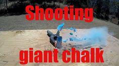 Ruger Mk3 VS Giant Chalk, GoPro slow motion 240FPS