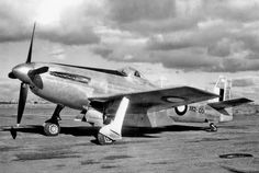 CA-15 Kangaroo (the only one made) at rest at an airfield (1946)