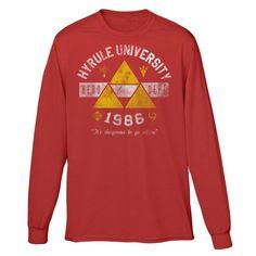 Hyrule University - Long Sleeve T-Shirt (Unisex)