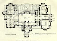Project for the Château de Courteuil, Chantilly