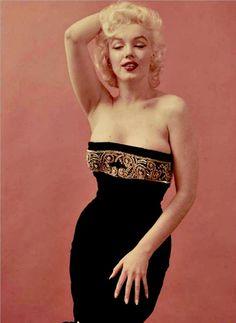 Marilyn Monroe by Milton Greene in 1955.