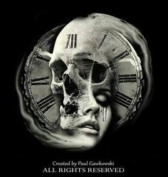 Tattoo girl face clock skull x Skull Tattoo Design, Skull Design, Skull Tattoos, Body Art Tattoos, Hand Tattoos, Girl Tattoos, Sleeve Tattoos, Tatoos, Tattoo Designs