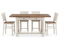 Sullivan 5 Pc. Counter Height Dining Room Set - Furniture Row