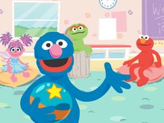 Join Grover's classroom storytelling game. Activities For Kids, Crafts For Kids, Education Sites, 7 Day Challenge, Building For Kids, Parent Resources, Toddler Fun, Story Time, Storytelling