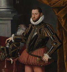 Alonso Sánchez Coello (style). El archiduque Diego Ernesto de Austria, 1580