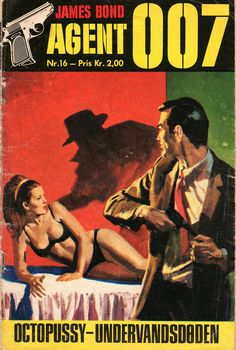 Danish comic book featuring the adaptation of Octopussy.