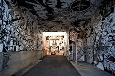 There's a lot of mural art in Montreal, and two of the biggest outfits are MU and EN MASSE (both links French only). There's also a very cool theatre, Théatre ESPACE GO that was having … Mural Art, Places To Go, Street Art, Painting, Arts, Design, Murals, Montreal Canada, Outer Space