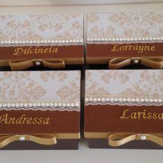 Caixas personalizadas para presentear as professoras da Maria !!! ❤️❤️❤️❤️