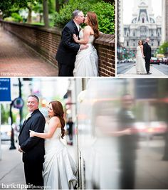 Philadelphia Urban City Wedding Portraits