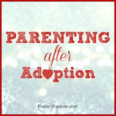 Check out these parenting tips for after adoption. Lots of useful information on traumatized kids and their behaviors.