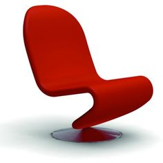 Verpan System 1-2-3 Low Lounge Chair - Verner Panton