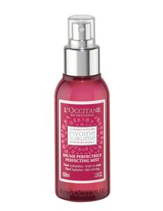 L'Occitane, refreshing and perfectioning mist. <3