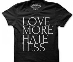 Love More Hate Less Workout Tee