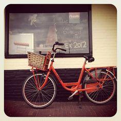 Orange Bike in Holland ~ IMG_2229 by neginn, via Flickr