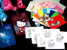 Cool #cardz refill pouches, #including free hello #kitty lanyard stickers & inser,  View more on the LINK: 	http://www.zeppy.io/product/gb/2/302184625855/
