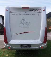 Bildergebnis Für Wohnmobil Aufkleber Sprüche Wohnwagen