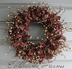RAG & BERRY WREATH