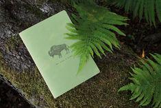 Ručně+šitý+sešit+Sešit+velikosti+A5+s+motivembizona+je+vyroben+z+kvalitního+papíru+a+ručne+sešitý+černou+nití+do+vazby+V1.+Všechny+naše+sešity+jsou+potištěny+našimi+autorskými+vzory,+které+jsou+inspirovány+přirodou.+Sešity+jsou+nelinkované. Bison, Herbs, Nature, Pattern, How To Make, Handmade, Naturaleza, Hand Made, Patterns