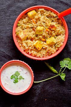 Paneer butter masala pulao recipe | How to make paneer butter masala pulao | Cook click n devour!!!