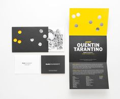 MoMA // NY // Film Benefit Quentin Tarantino // The Department of Advertising and Graphic Design