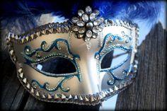 INSPIRED 50 Fifty Shades Venetian Masquerade Mask  by BrulezRulez, $75.00