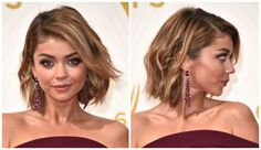 The Hottest Bob Haircuts of the Moment: Deep Side Part With Angled, Side-Swept Bangs