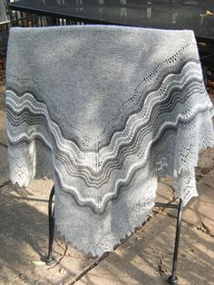 Ravelry: The Grey Shawl pattern by Sharon Miller
