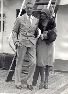 John Barrymore & Doris Costello (Drew Barrymore's grandparents)