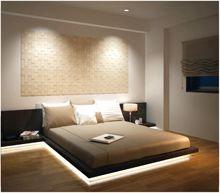 エコカラット:ベッドルーム 寝室 Fitted Bedroom Furniture, Fitted Bedrooms, Modern Bedroom, Modern Japanese Interior, Japanese Home Design, Light Pink Bedrooms, Bedroom Design Inspiration, Bed Lights, Woman Bedroom
