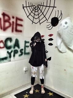 My tokyo ghoul cosplay. It's my first time and I had so much fun!