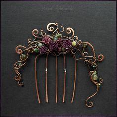 Jewelry Noelani would wear Jewelry Crafts, Jewelry Art, Jewelry Accessories, Handmade Jewelry, Jewelry Design, Wire Wrapped Jewelry, Metal Jewelry, Hair Jewels, Wire Weaving