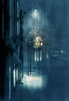 When my dad built us a tree house.#pascalcampionart_My dad is the coolest dad in the whole world._How come?_ He built me a tree house!_So..?_We live in Manhattan.