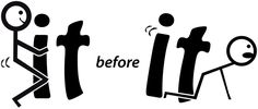 "F*ck it before It F*cks You ""F it"" Funny Car Decal Window Bumper Sticker #DecalsStickersandVinyl #Novelty"