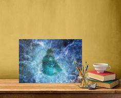 Art by María Moreno #art #artcanvas #canvasmetal #artwork #print #homedecor #artdeco #interiorsideas #giftideas #bytart #sellart #wallart #artbyall #arttoall #space #universe #mystic #galaxy #cosmos #space #universe #cosmos #galaxy #galactic #girl #nebula #scifi #blue #star #home #art #artprint #mariamoreno #Paintings